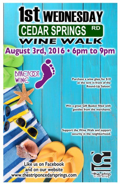 Wine Walk - August