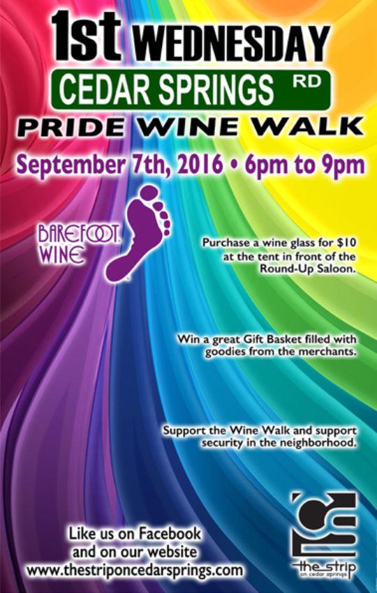 Sept. 2016 Wine Walk