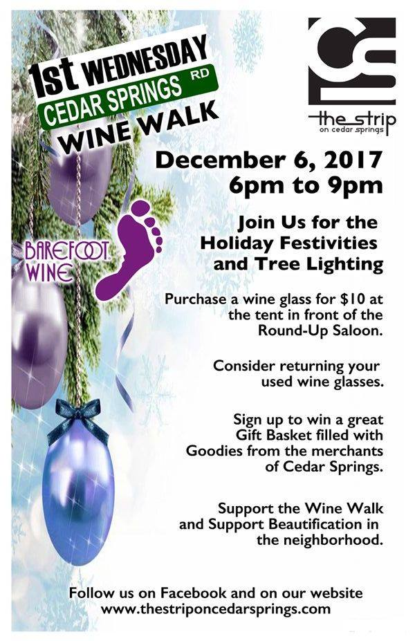 Wine Walk - December 2017 @ Round Up Saloon | Dallas | Texas | United States