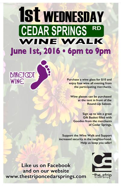 Wine Walk - June @ Round Up Saloon | Dallas | Texas | United States