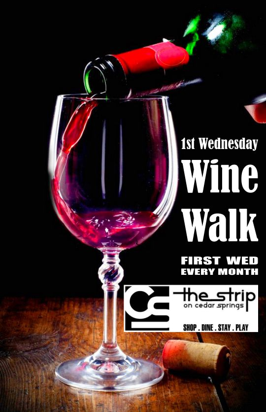 Wine Walk - April 2018 @ Round Up Saloon | Dallas | Texas | United States
