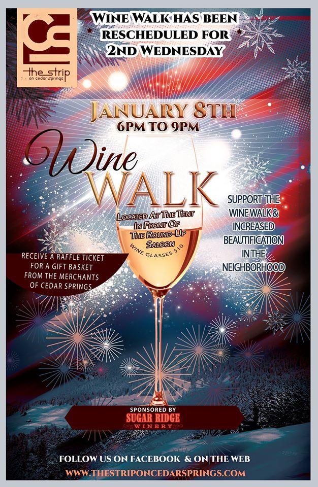Wine Walk - Jan 8 2020